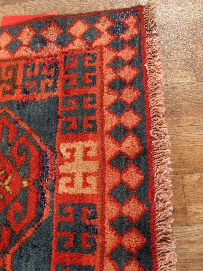 Antique Persian Hamadan Rug 5.10x15.5 - 2