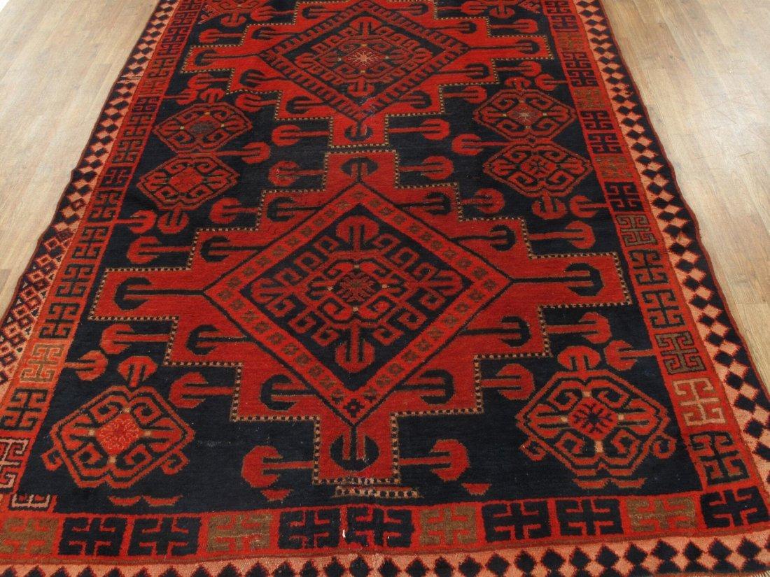Antique Persian Hamadan Rug 5.10x15.5 - 3