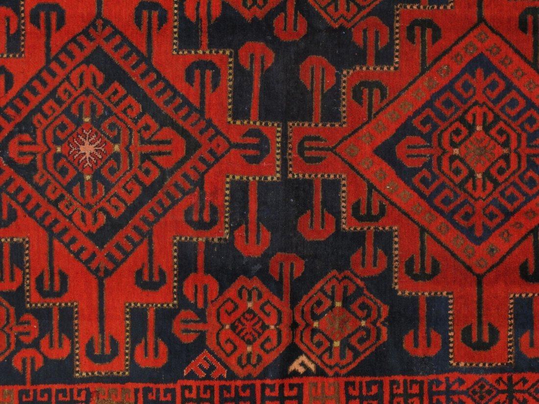 Antique Persian Hamadan Rug 5.10x15.5 - 6