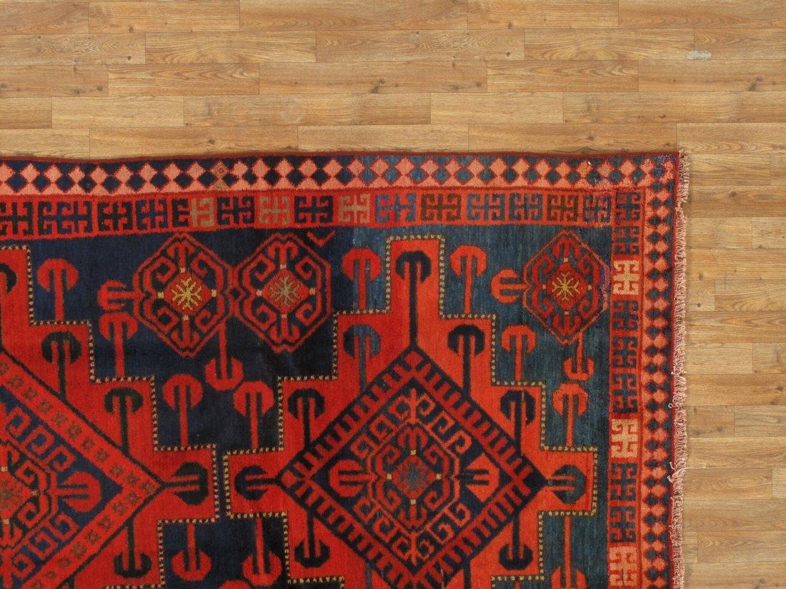 Antique Persian Hamadan Rug 5.10x15.5 - 7