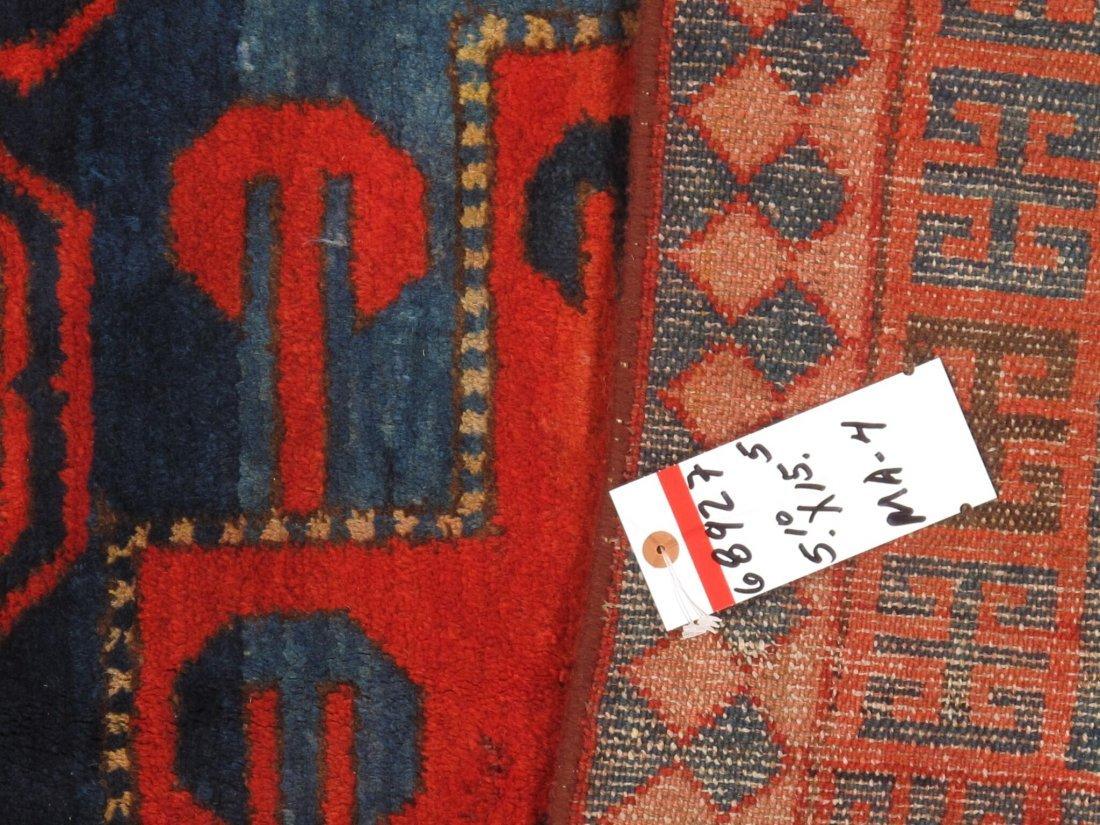 Antique Persian Hamadan Rug 5.10x15.5 - 8
