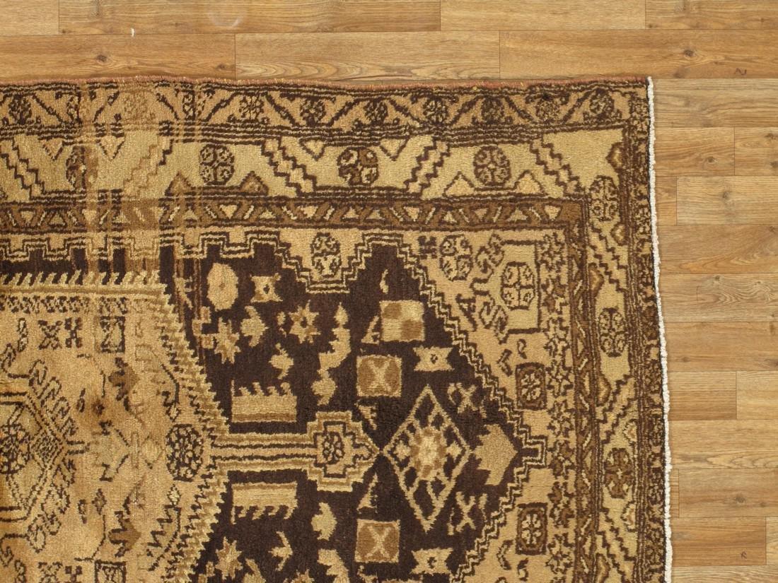 Vintage Persian Rug 4.2x7.3 - 5