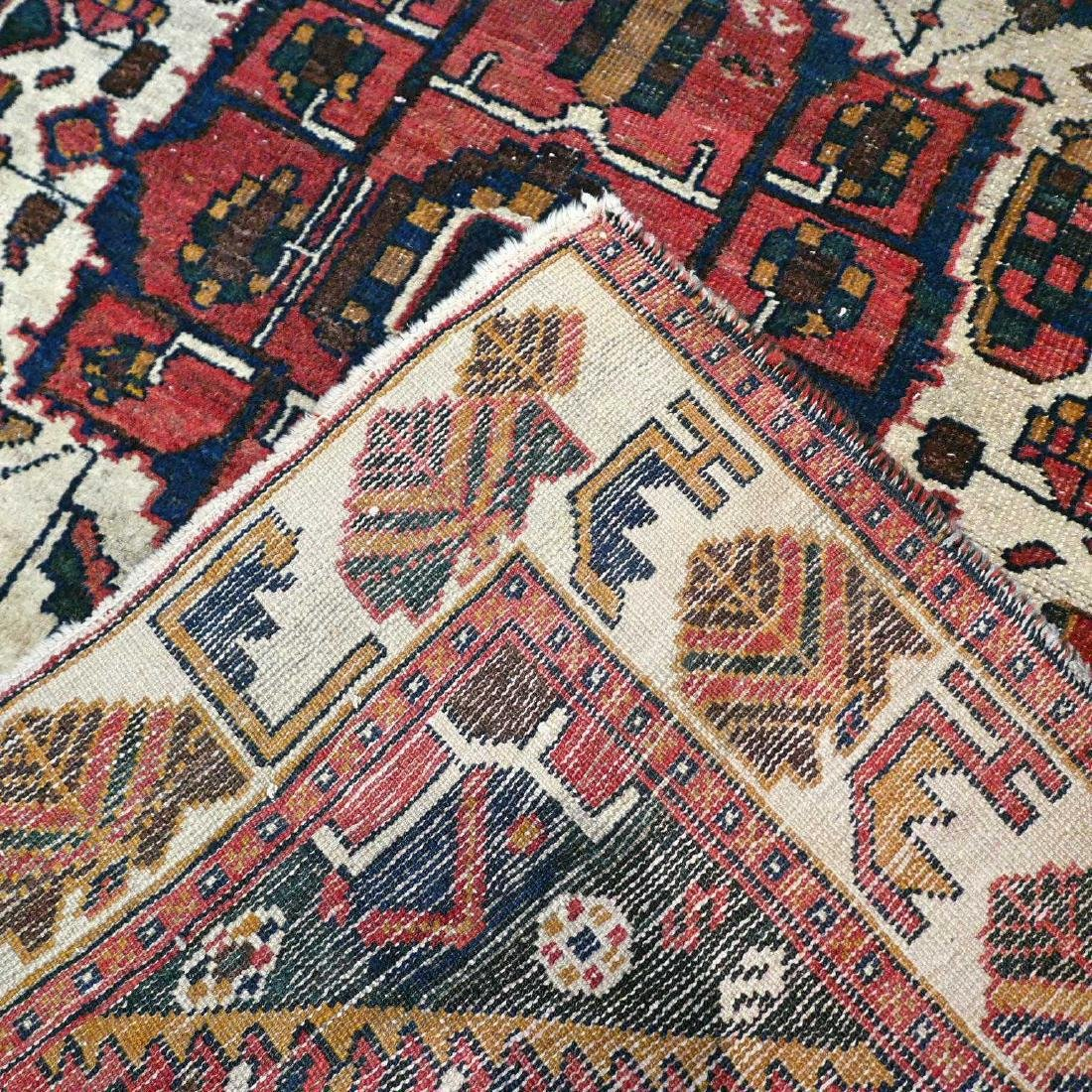 Antique Persian Bakhtiar Wool Hand Knotted Rug 6.3x4.2 - 8