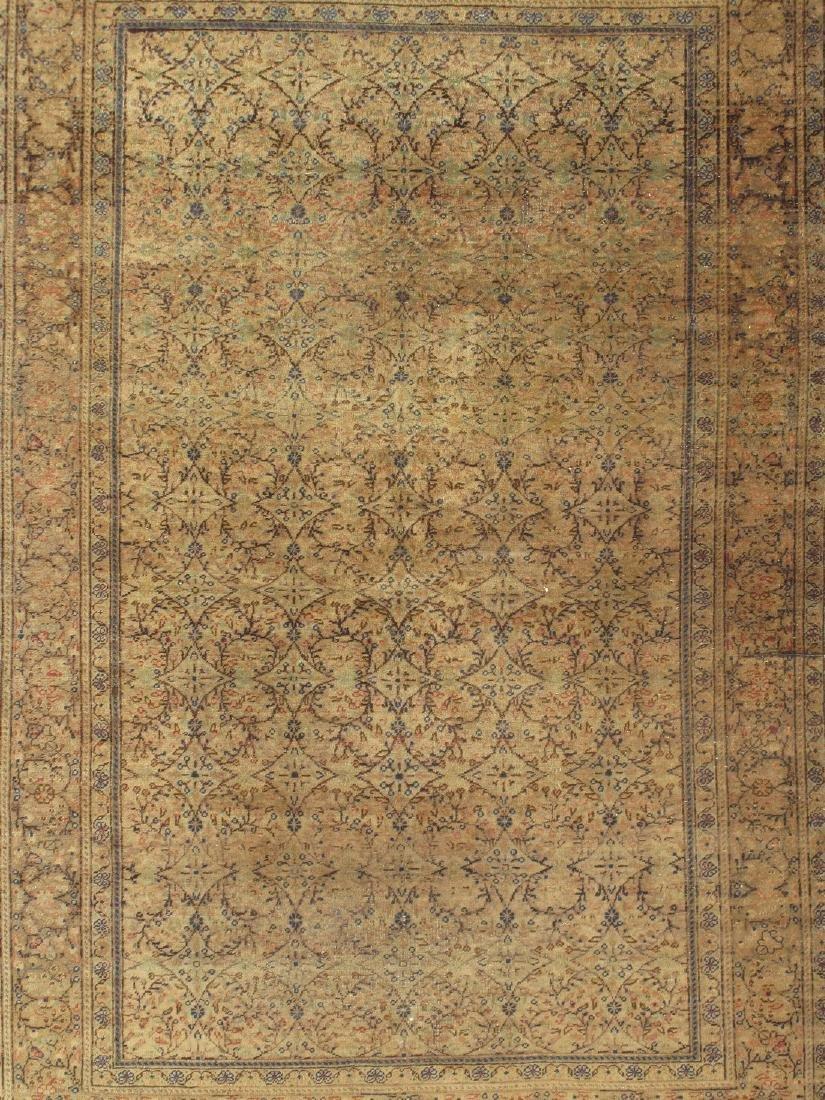 Antique Turkish Kasary Rug 4.8x6.11 - 5