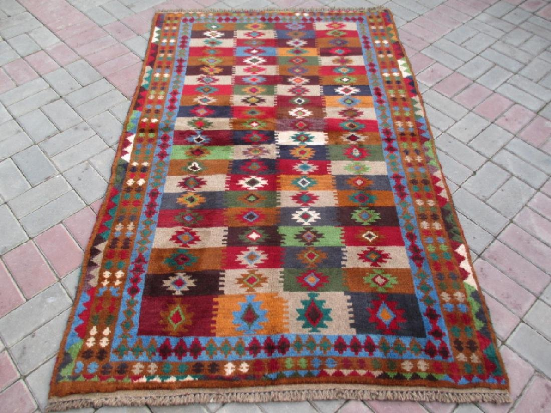 Contemporary Hand Knotted Baluchi Rug 6.3x3.11
