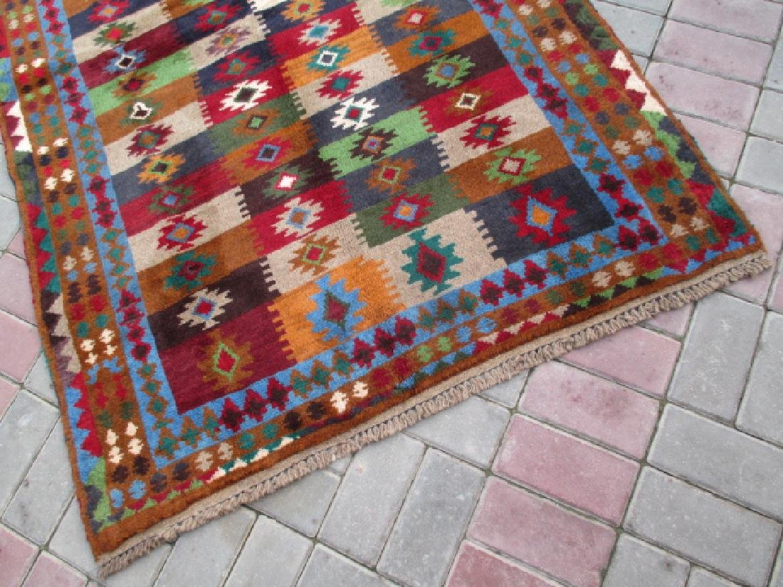 Contemporary Hand Knotted Baluchi Rug 6.3x3.11 - 4