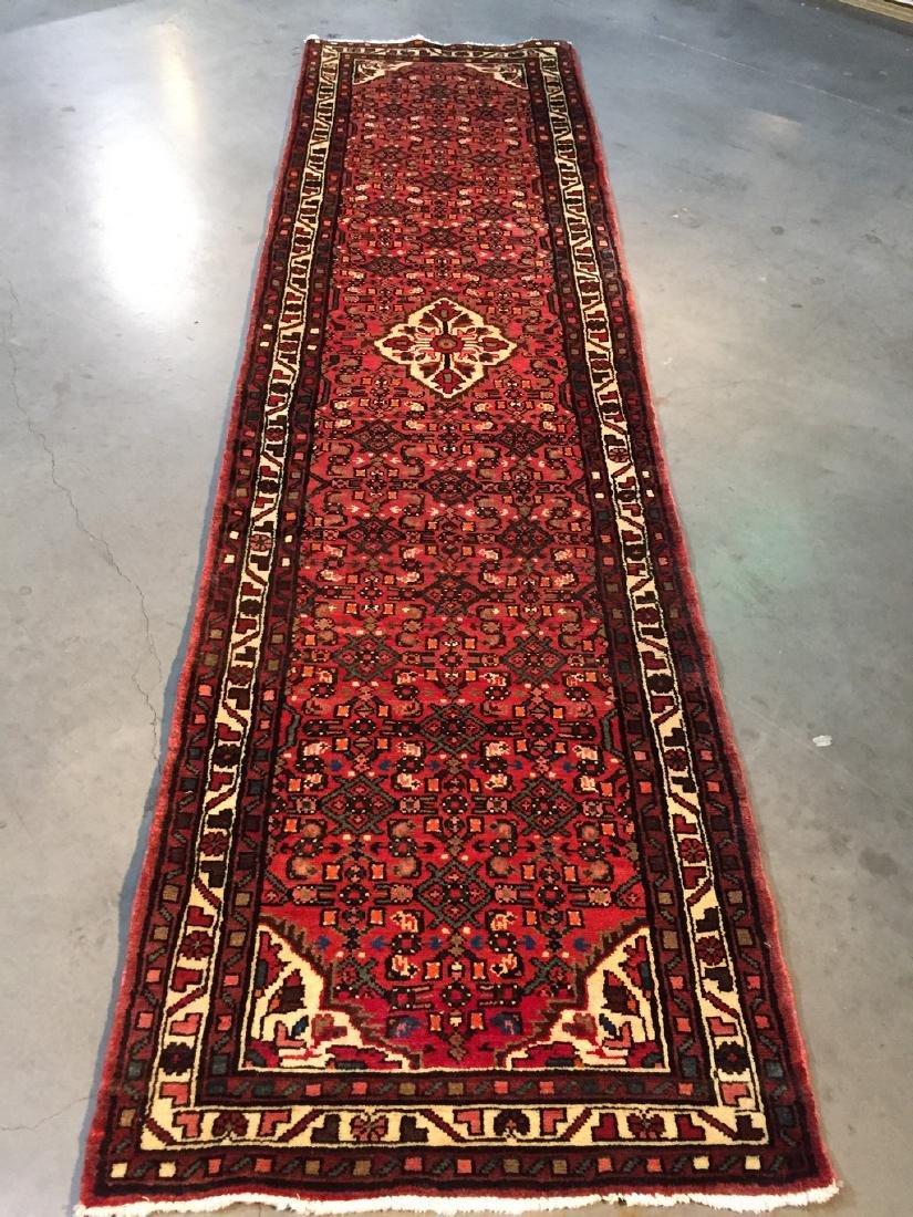 Persian Hamedan Runner Rug 2.6x10