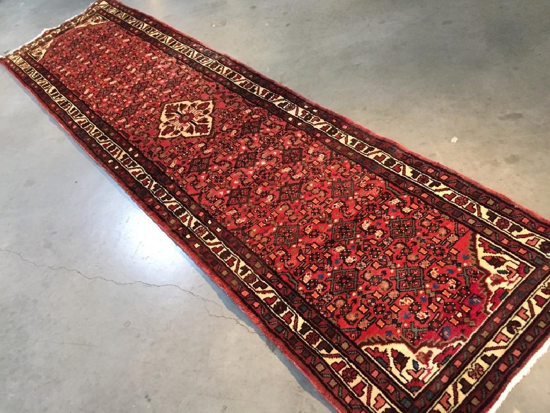 Persian Hamedan Runner Rug 2.6x10 - 5
