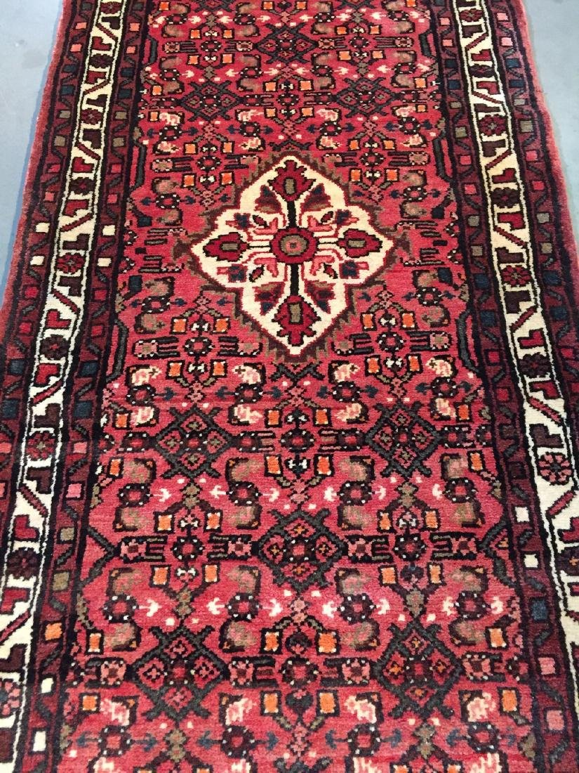 Persian Hamedan Runner Rug 2.6x10 - 7