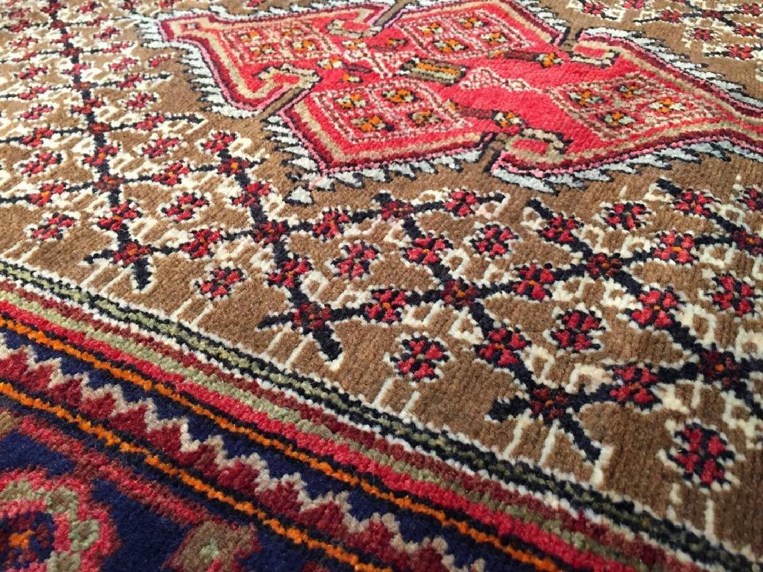 Fine Persian Hamedan Wide Runner Rug 3.3x11 - 3