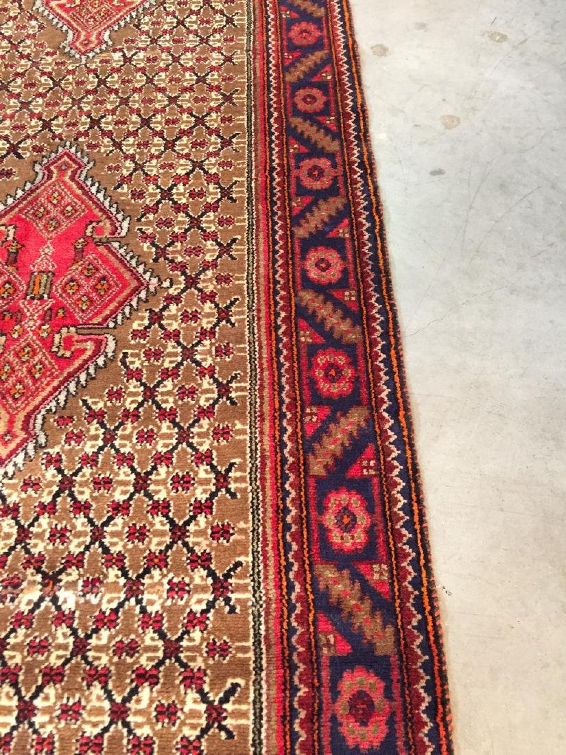 Fine Persian Hamedan Wide Runner Rug 3.3x11 - 7