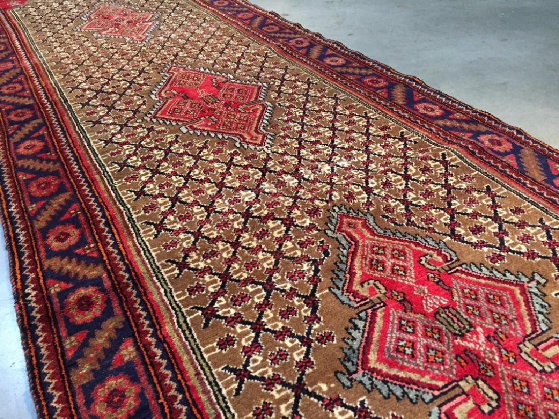 Fine Persian Hamedan Wide Runner Rug 3.3x11 - 9
