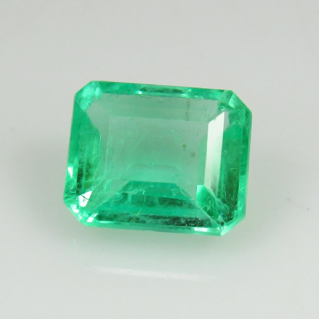 2.20 Ctw GRS Certified Natural Colombian Emerald