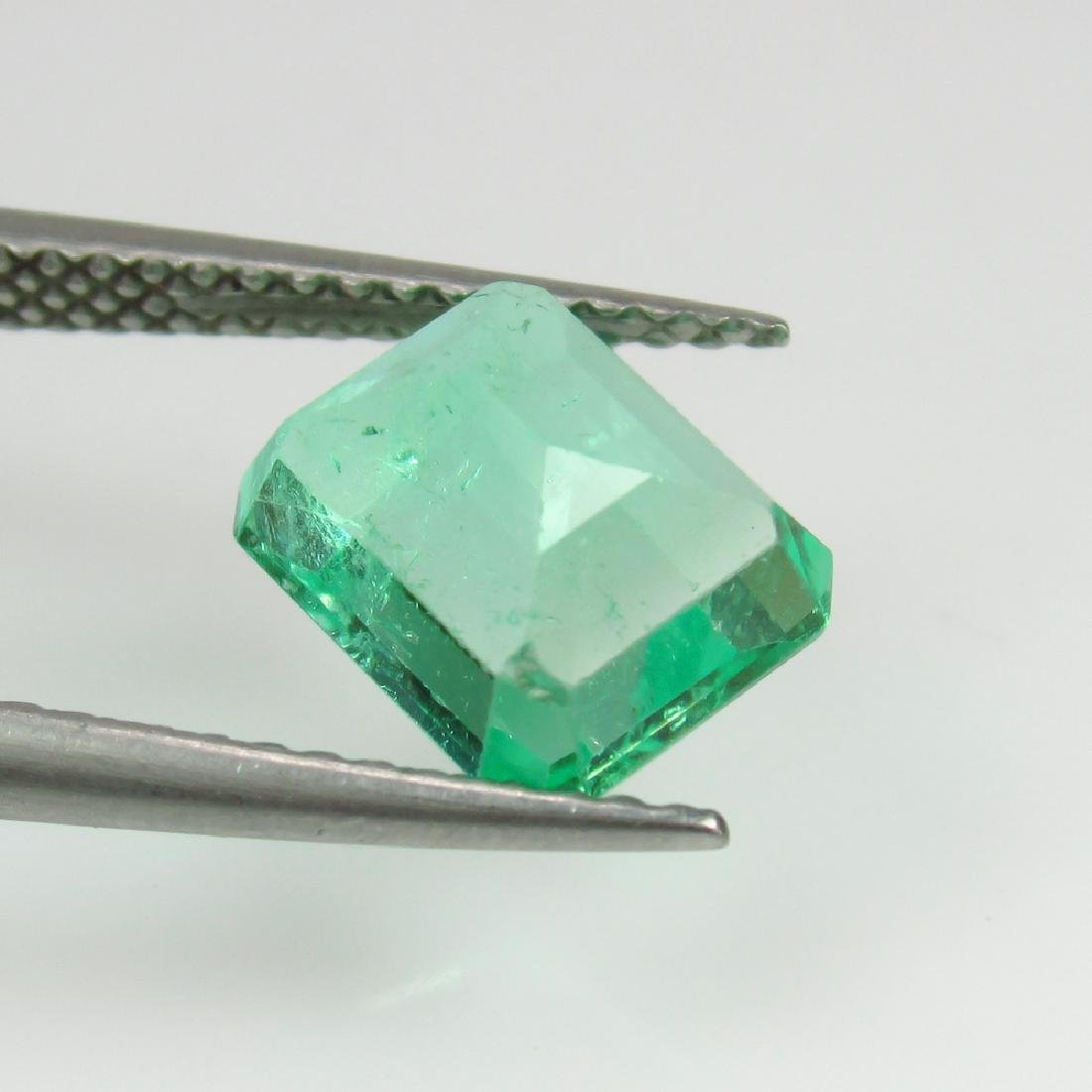 2.20 Ctw GRS Certified Natural Colombian Emerald - 4