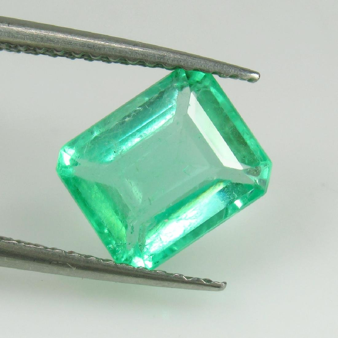 2.20 Ctw GRS Certified Natural Colombian Emerald - 5
