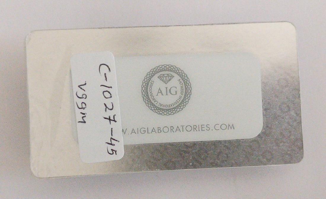 0.24 ct Pear cut diamond F.L. / F. Yellowish Brown / - 2