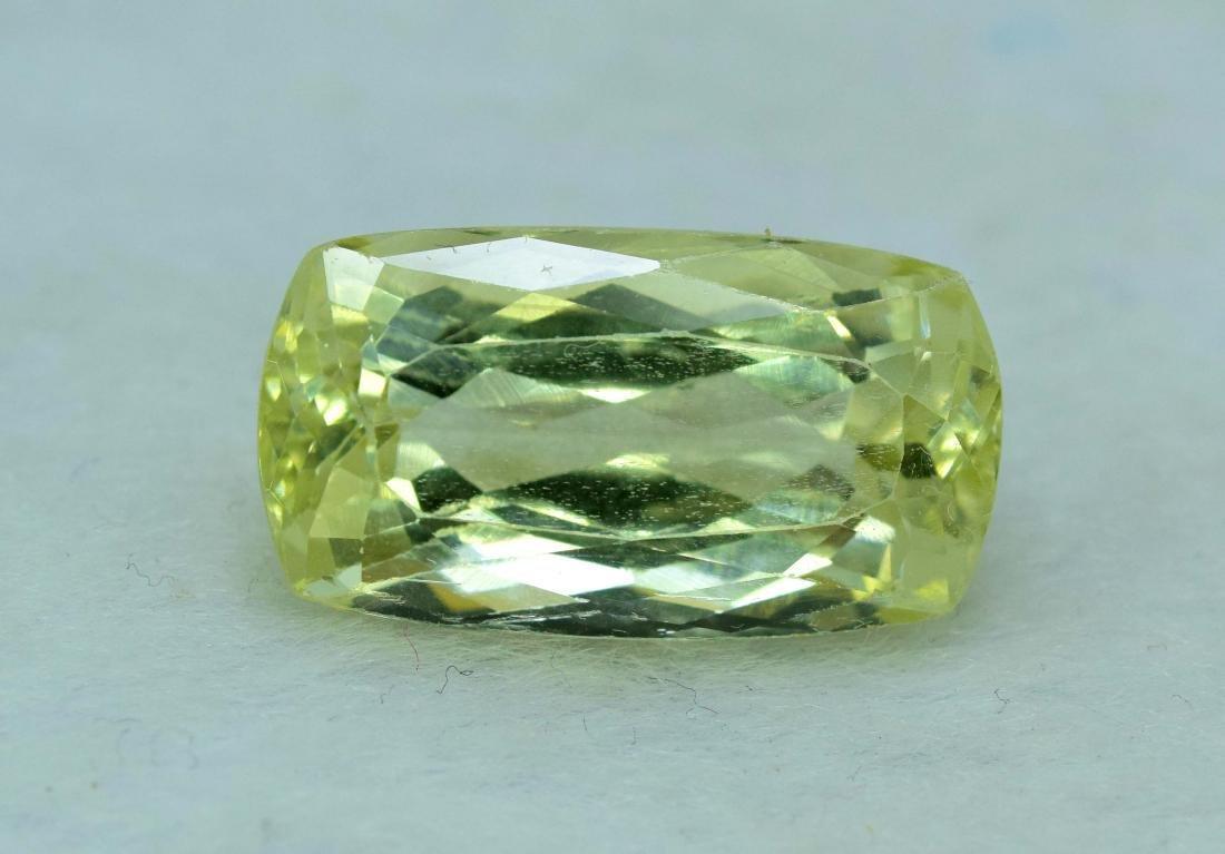 Natural yellow Color Kunzite Loose Gemstone