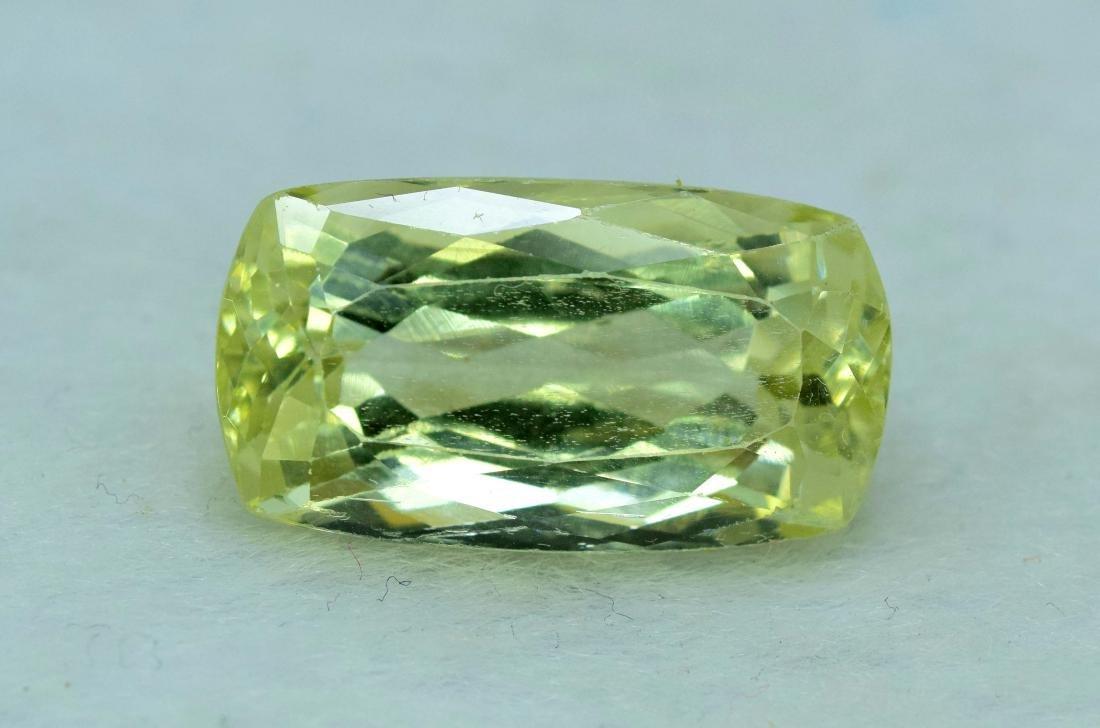 Natural yellow Color Kunzite Loose Gemstone - 2