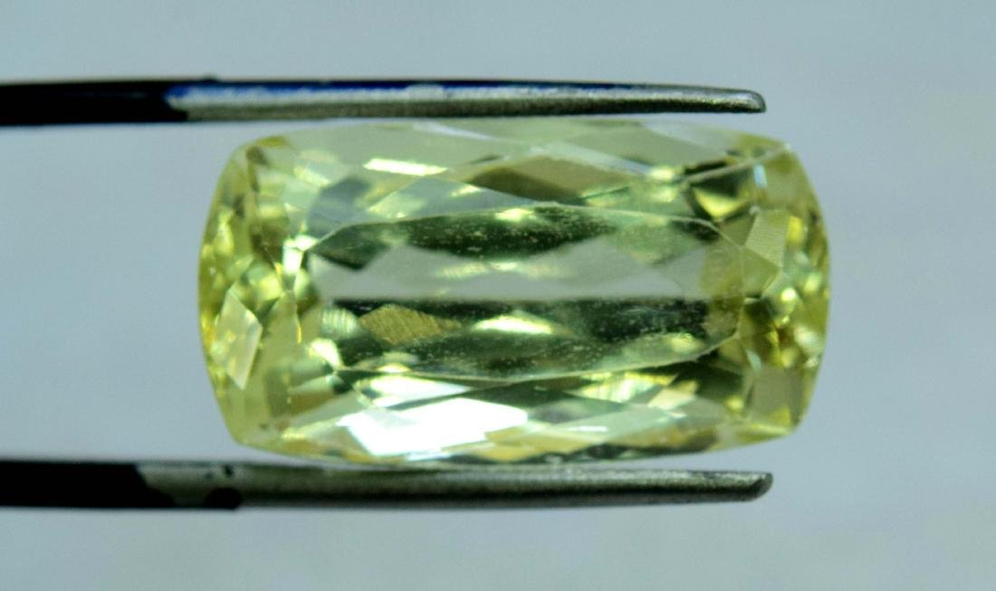 Natural yellow Color Kunzite Loose Gemstone - 4