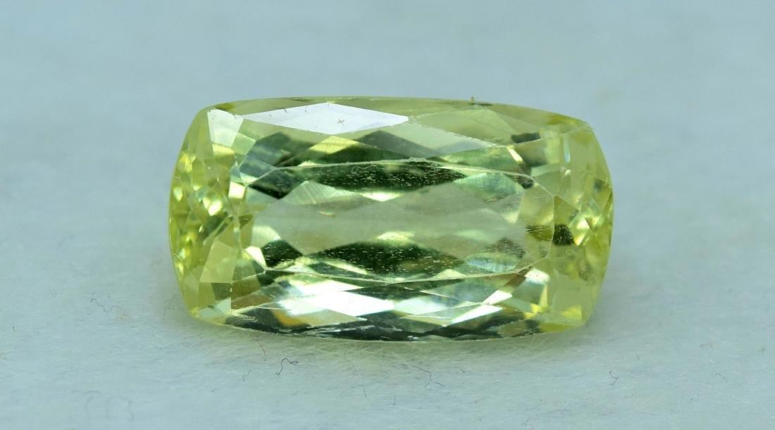 Natural yellow Color Kunzite Loose Gemstone - 5