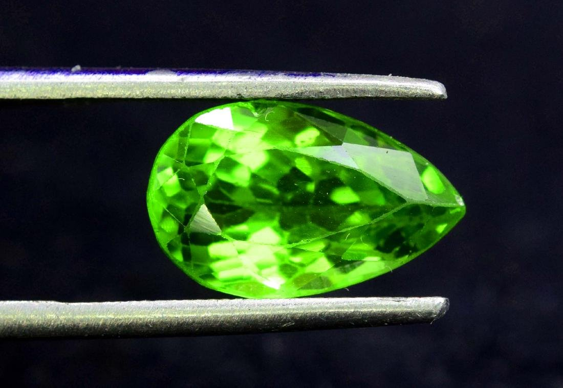 Natural Peridot Loose gemstone - 4