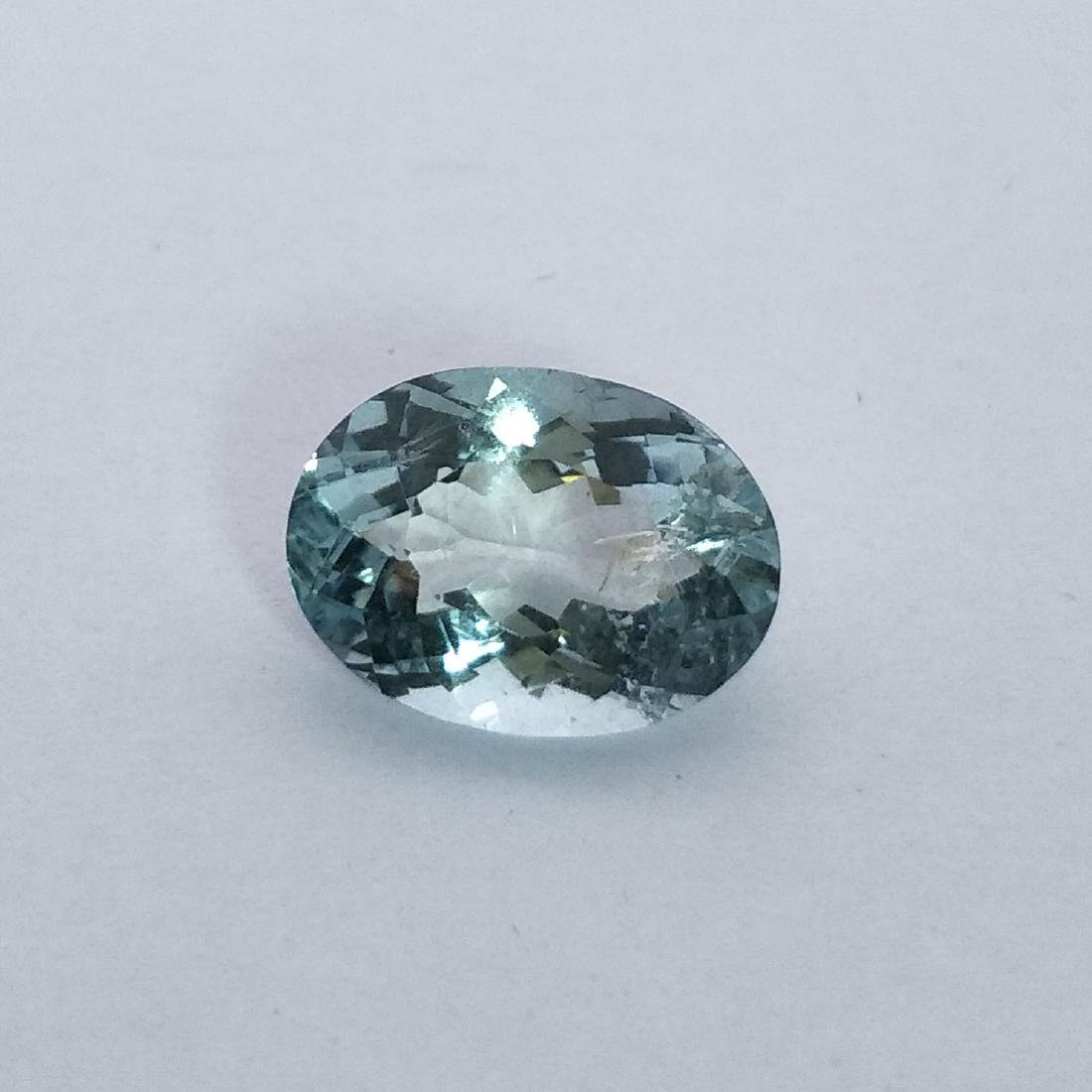 Aquamarine - 4.66 ct - 2
