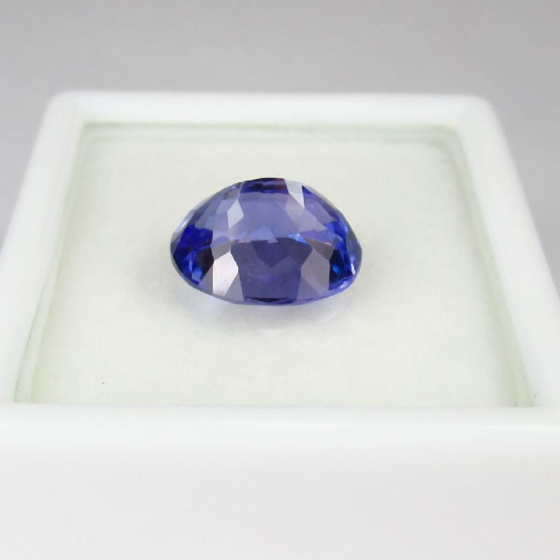 3.05 Ctw  IGI Certified Natural Loose Oval Tanzanite - 5