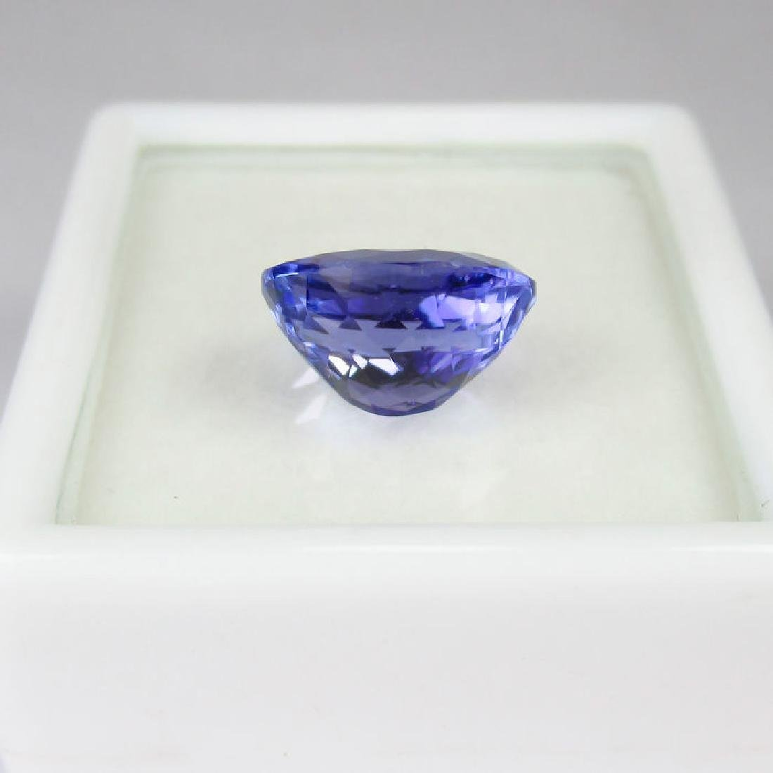 3.05 Ctw  IGI Certified Natural Loose Oval Tanzanite - 6