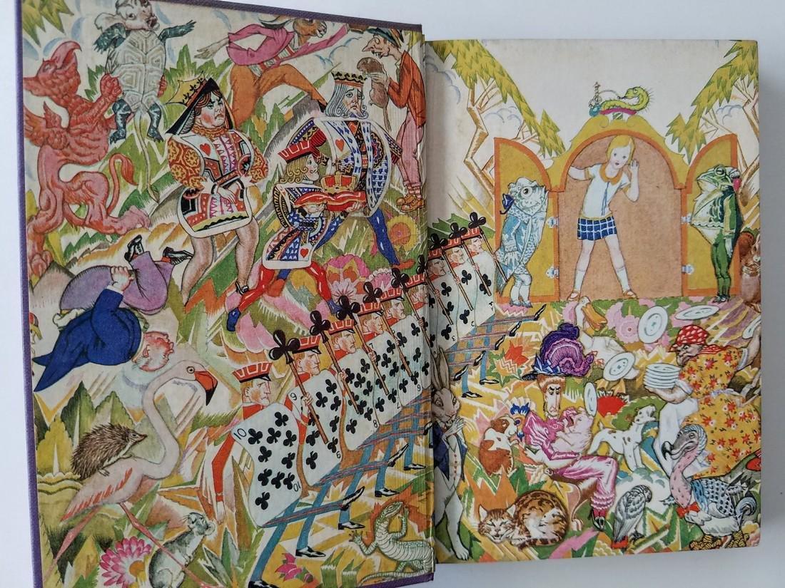 Alice's Adventures Wonderland Illustrated Willy Pogany - 2