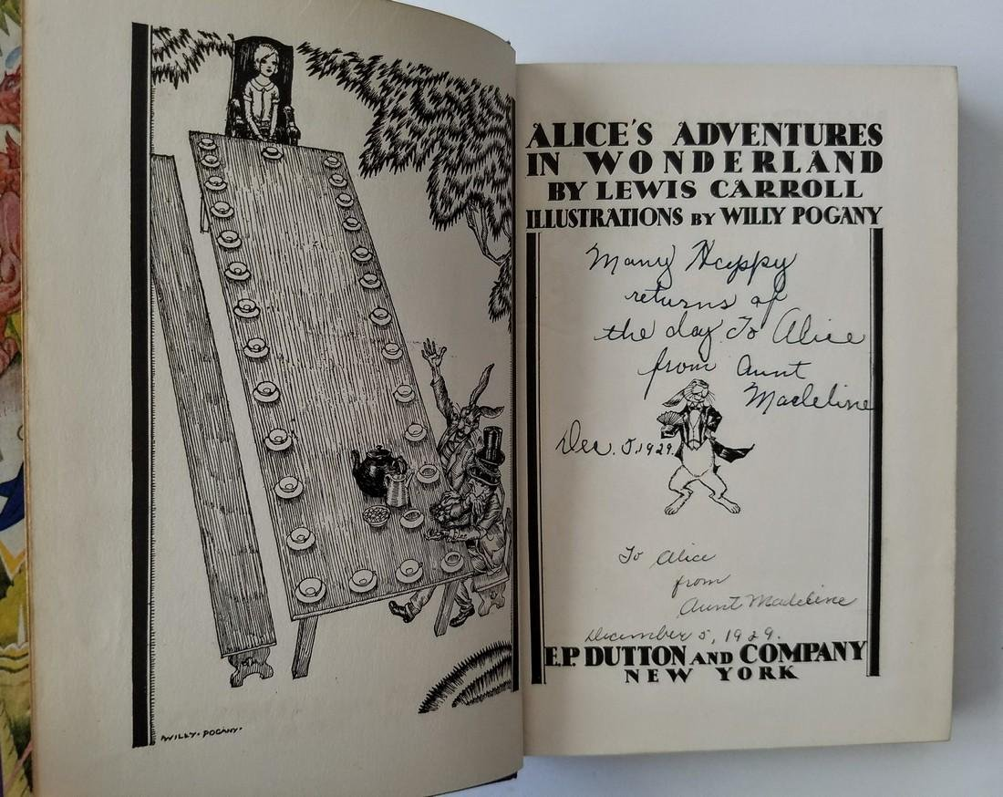 Alice's Adventures Wonderland Illustrated Willy Pogany - 3