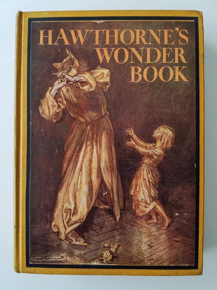 Hawthorne's Wonder Book. Illustrated by Arthur Rackham.