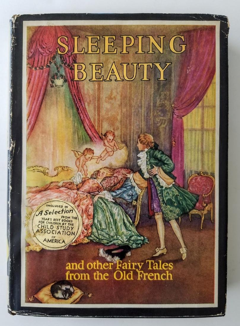 The Sleeping Beauty. Illustrated by Edmund Dulac.