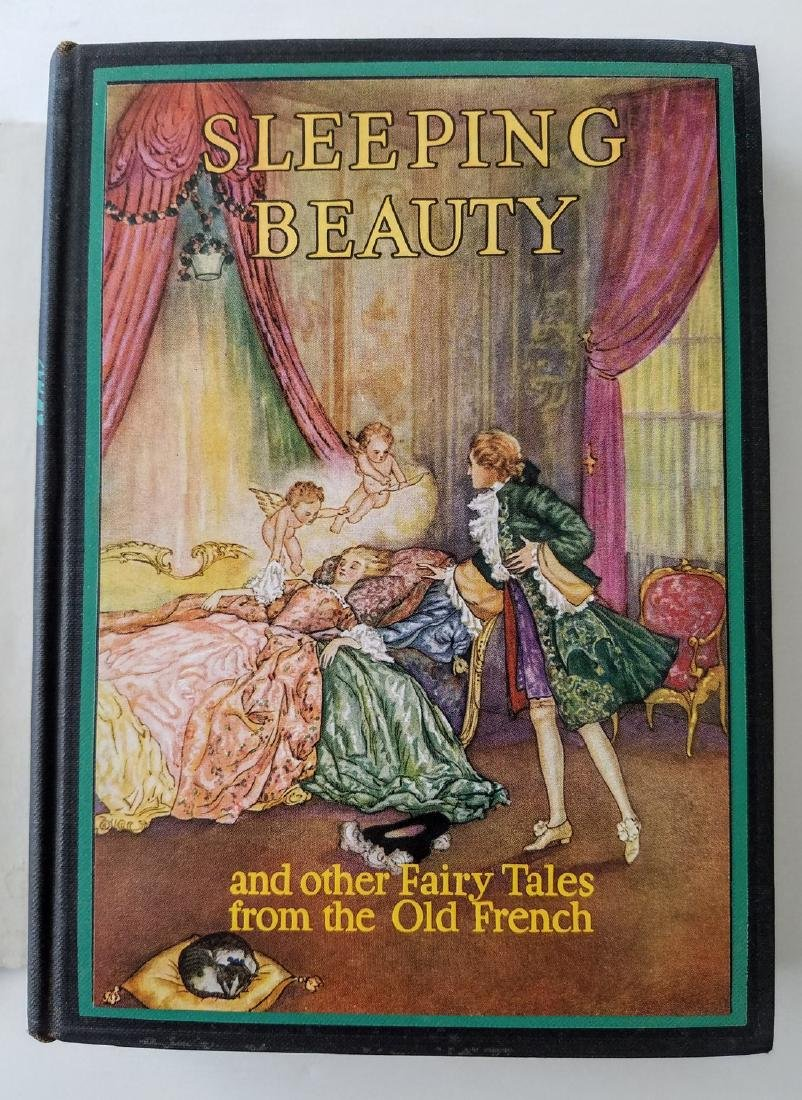 The Sleeping Beauty. Illustrated by Edmund Dulac. - 2