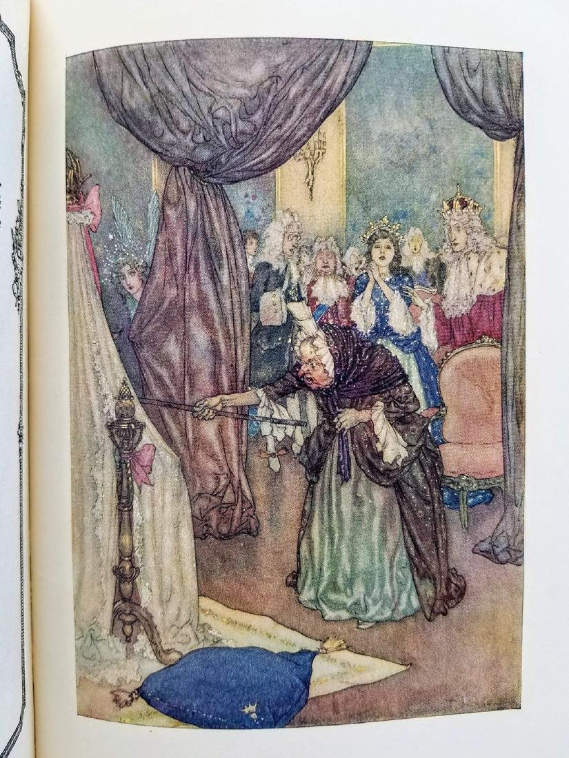 The Sleeping Beauty. Illustrated by Edmund Dulac. - 4