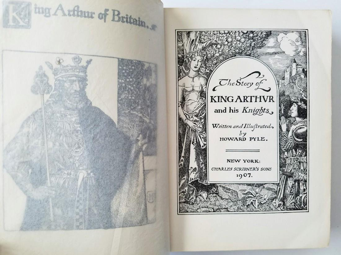 The Story of King Arthur. By Howard Pyle. - 2