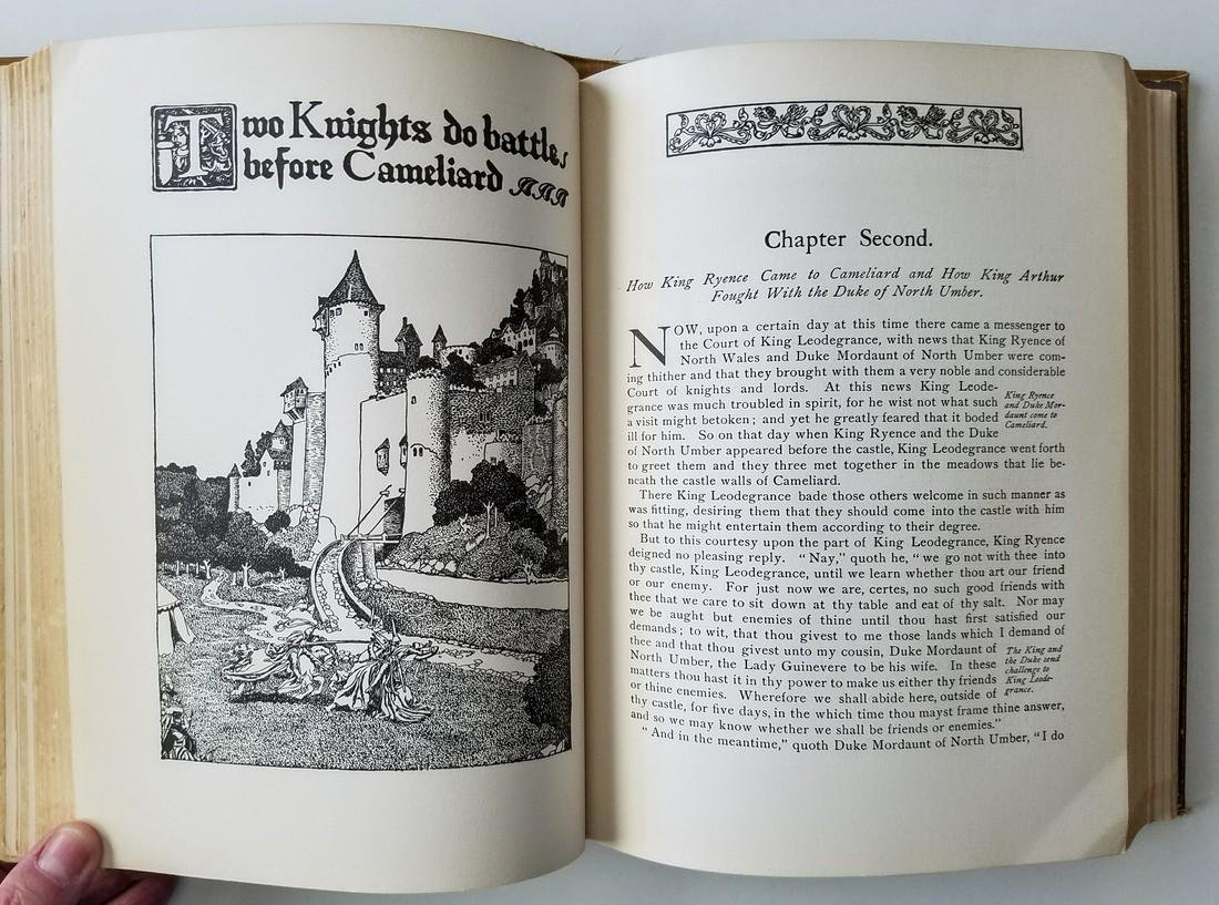 The Story of King Arthur. By Howard Pyle. - 3