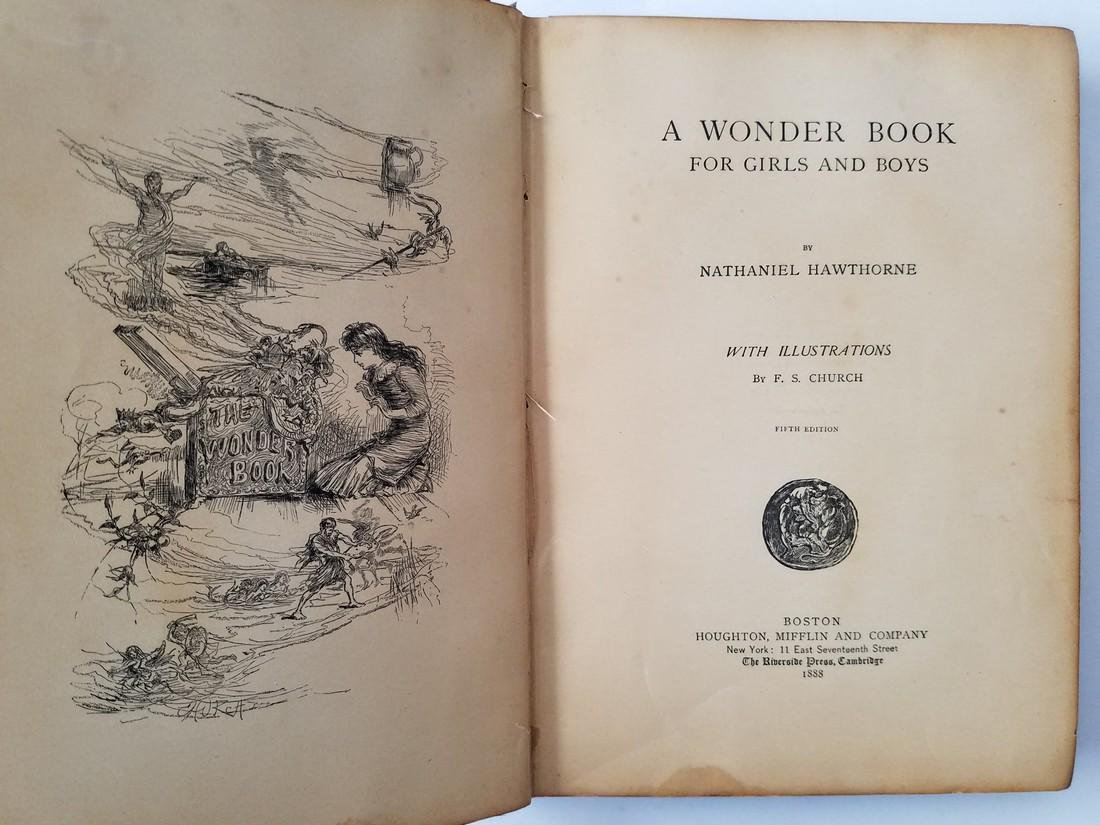 A Wonder Book for Girls and Boys. 1888. - 3