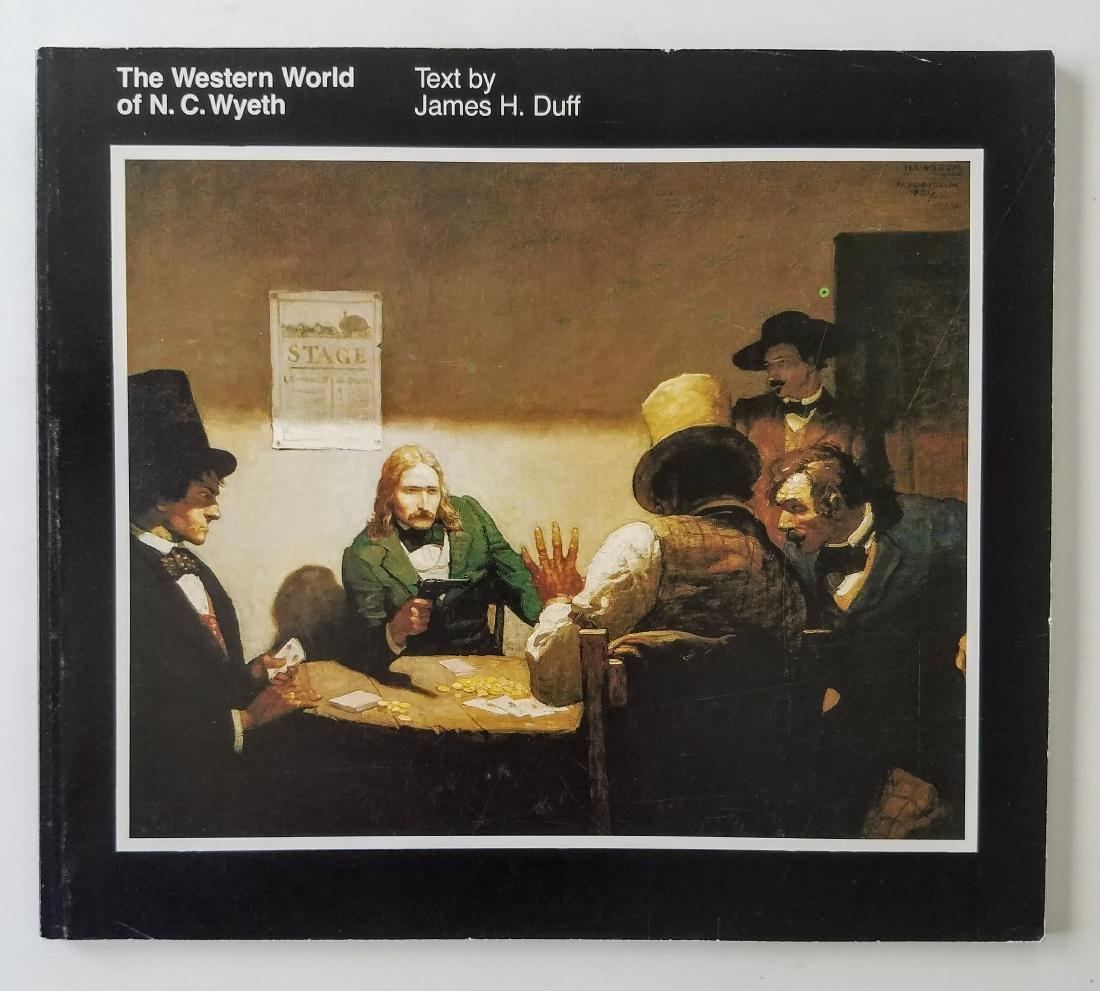 The Western World of N.C. Wyeth.
