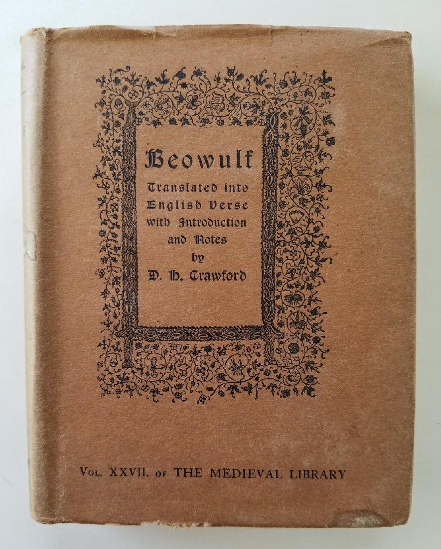 Beowulf. Translated into English verse. 1926.