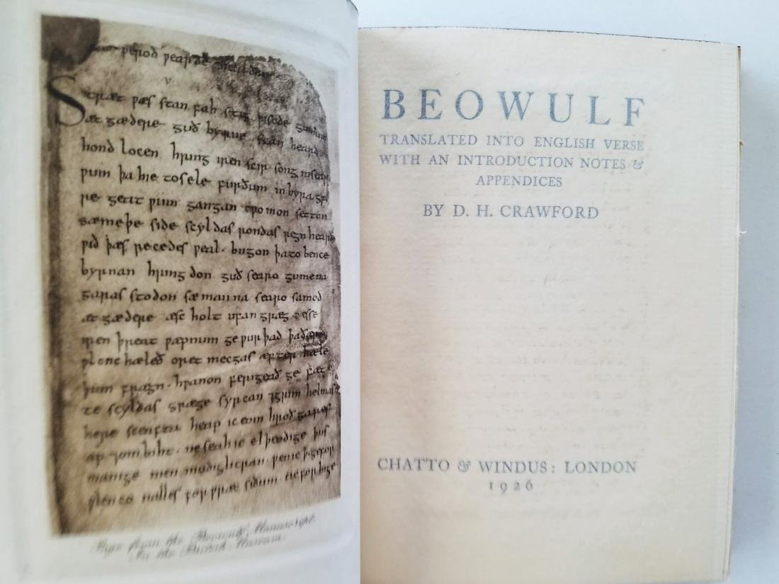 Beowulf. Translated into English verse. 1926. - 2