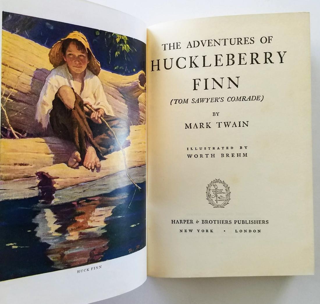 The Adventures of Huckleberry Finn. - 2