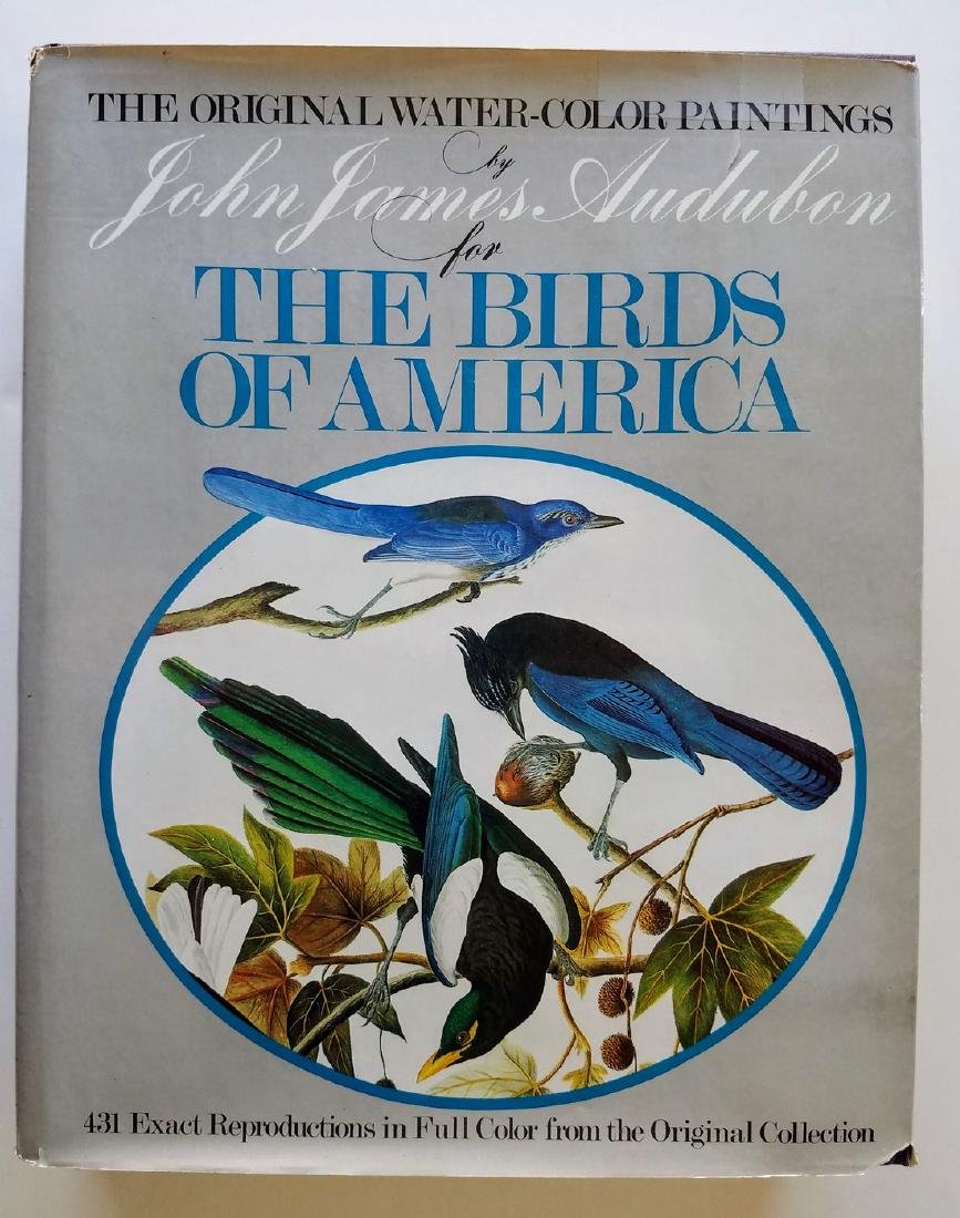 The Original Watercolor Paintings by John James Audubon