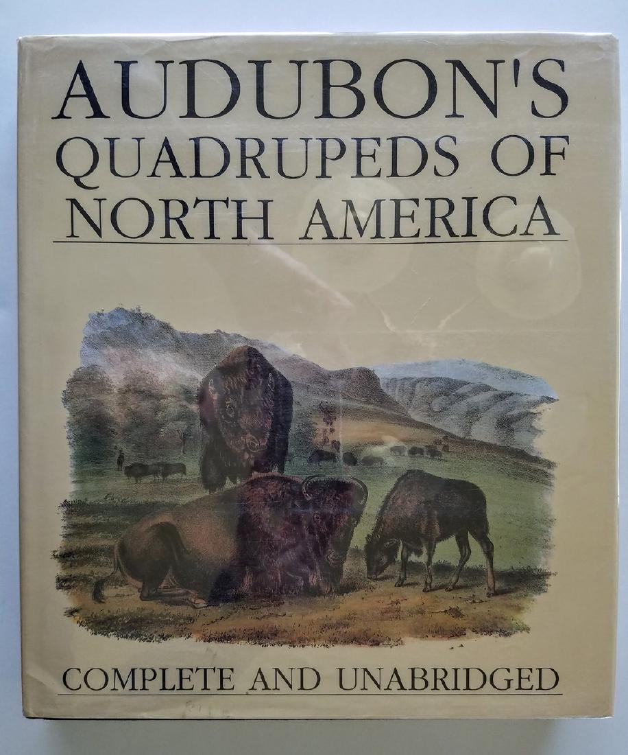 Audubon's Quadrupeds of North America Complete