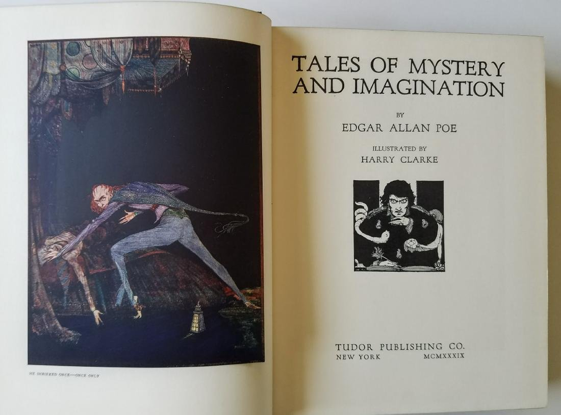 Harry Clarke. Tales of Mystery and Imagination. - 3