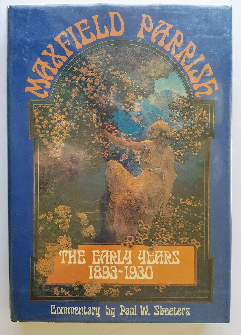 Signed Letter & Label Maxfield Parrish The Early Years
