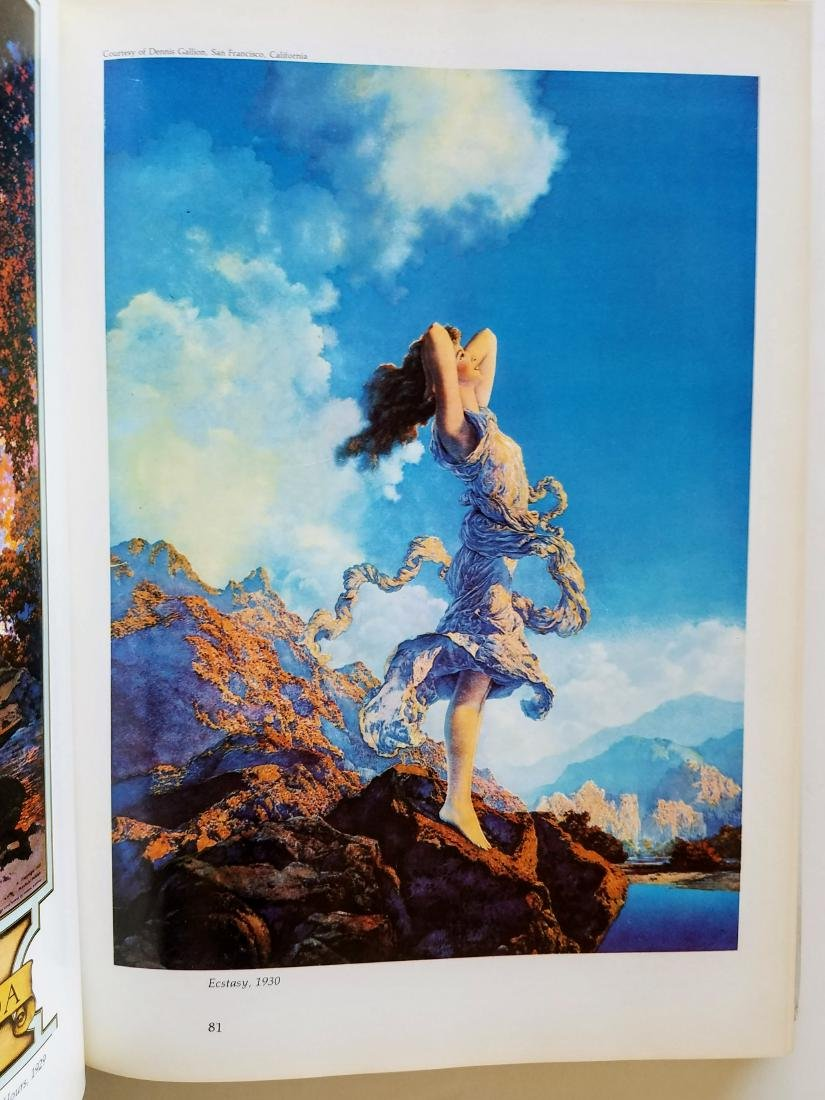 Signed Letter & Label Maxfield Parrish The Early Years - 3