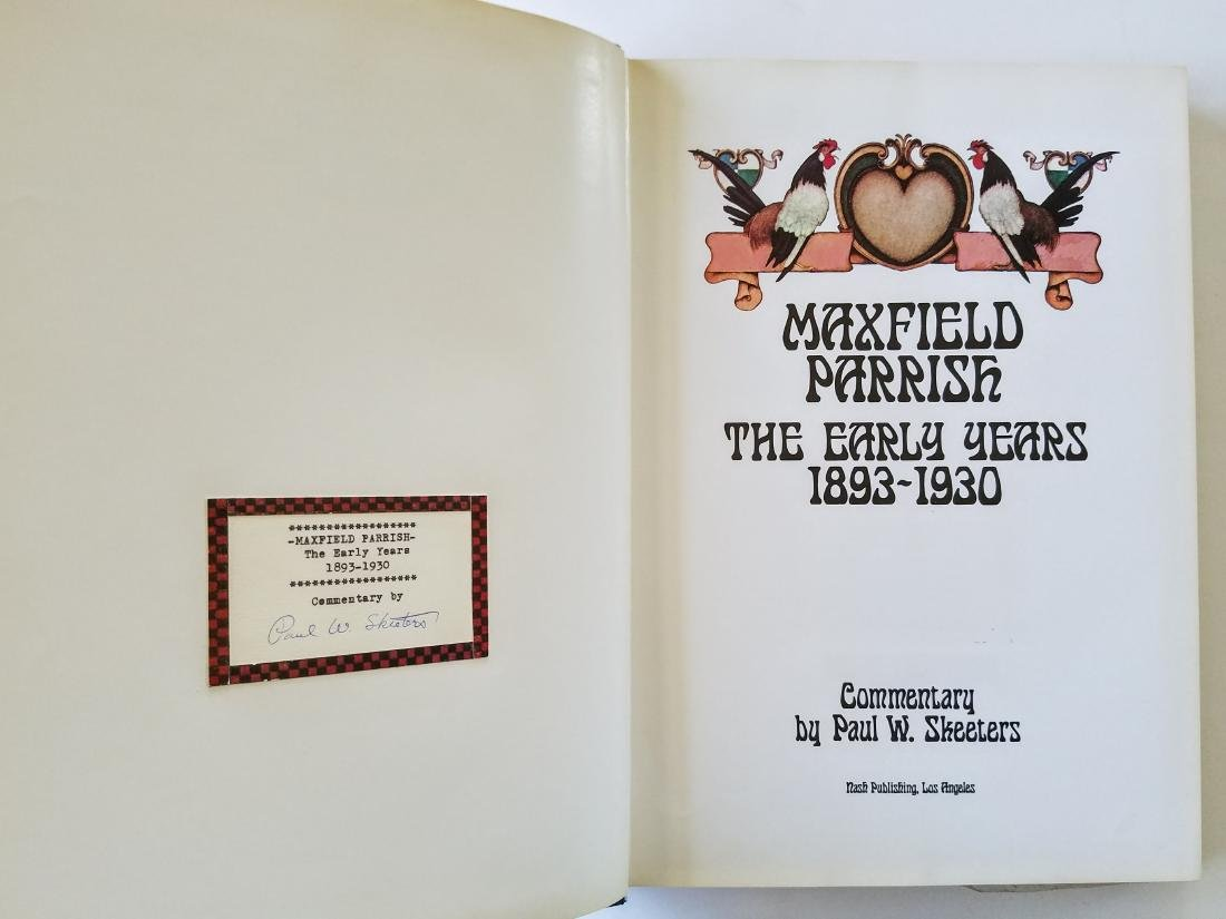 Signed Letter & Label Maxfield Parrish The Early Years - 5
