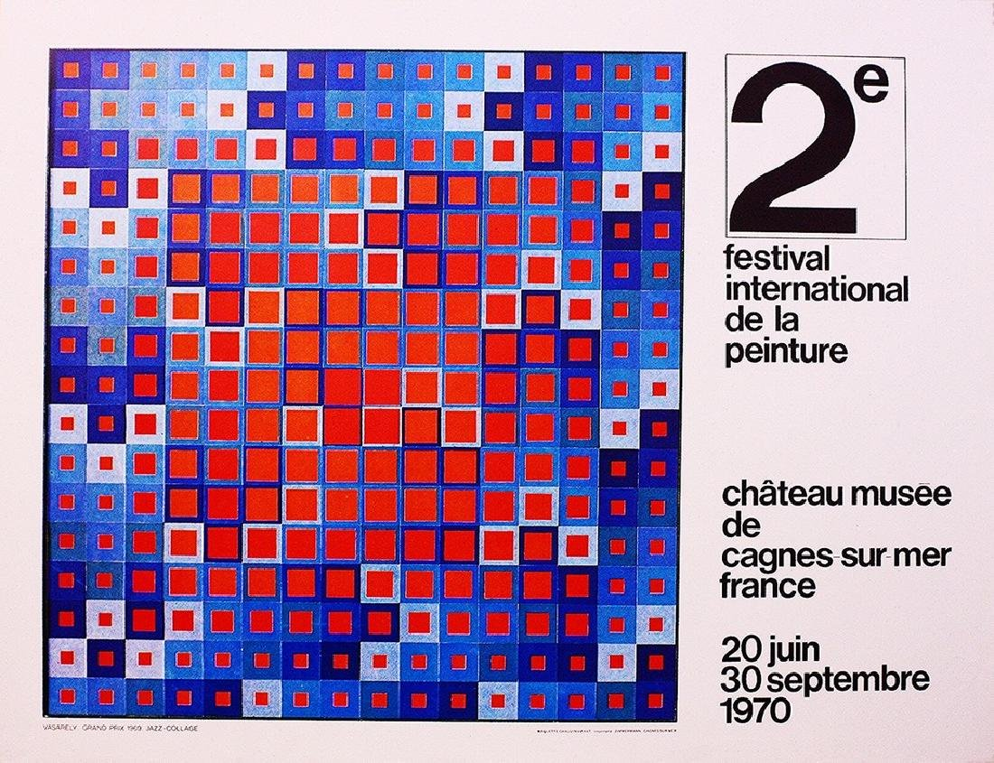Victor Vasarely Festival International De La Peinture