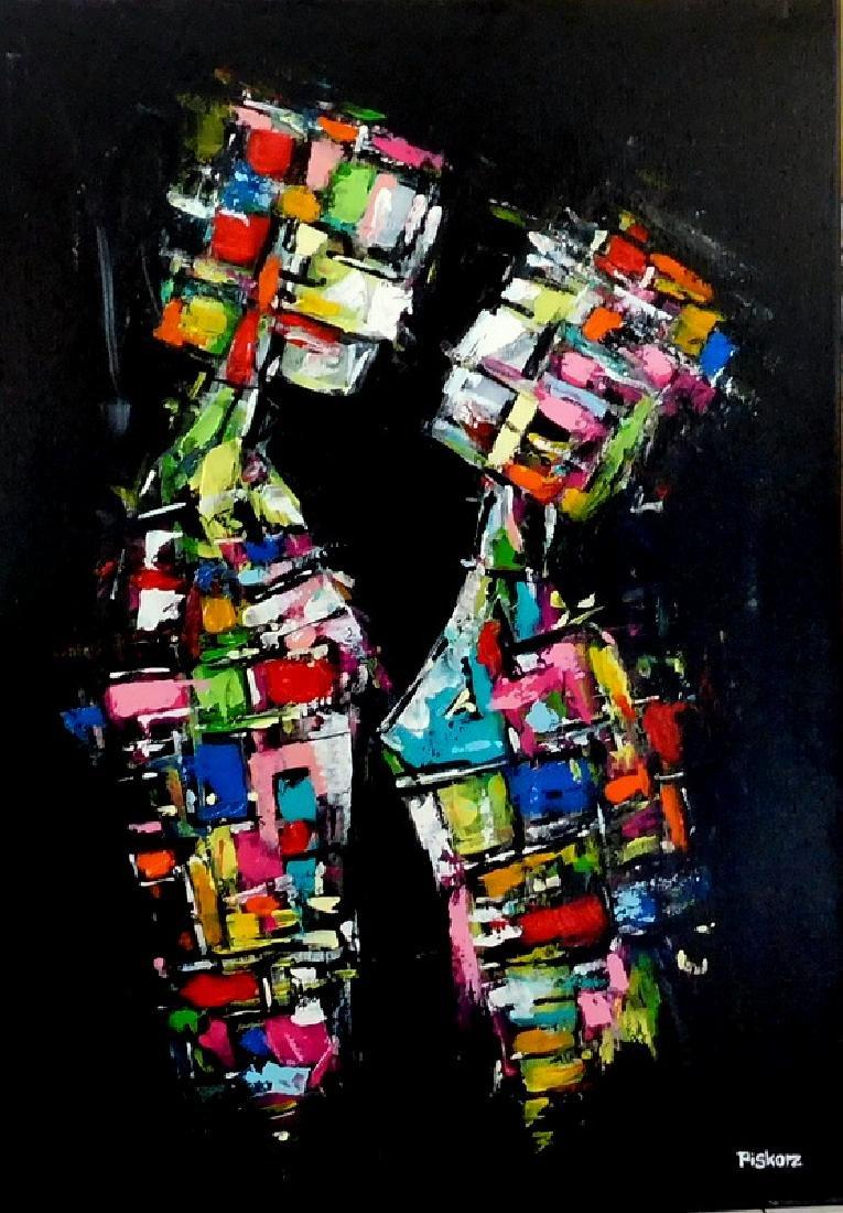 Piotr Piskorz Catch Me and Don't Let Go Painting