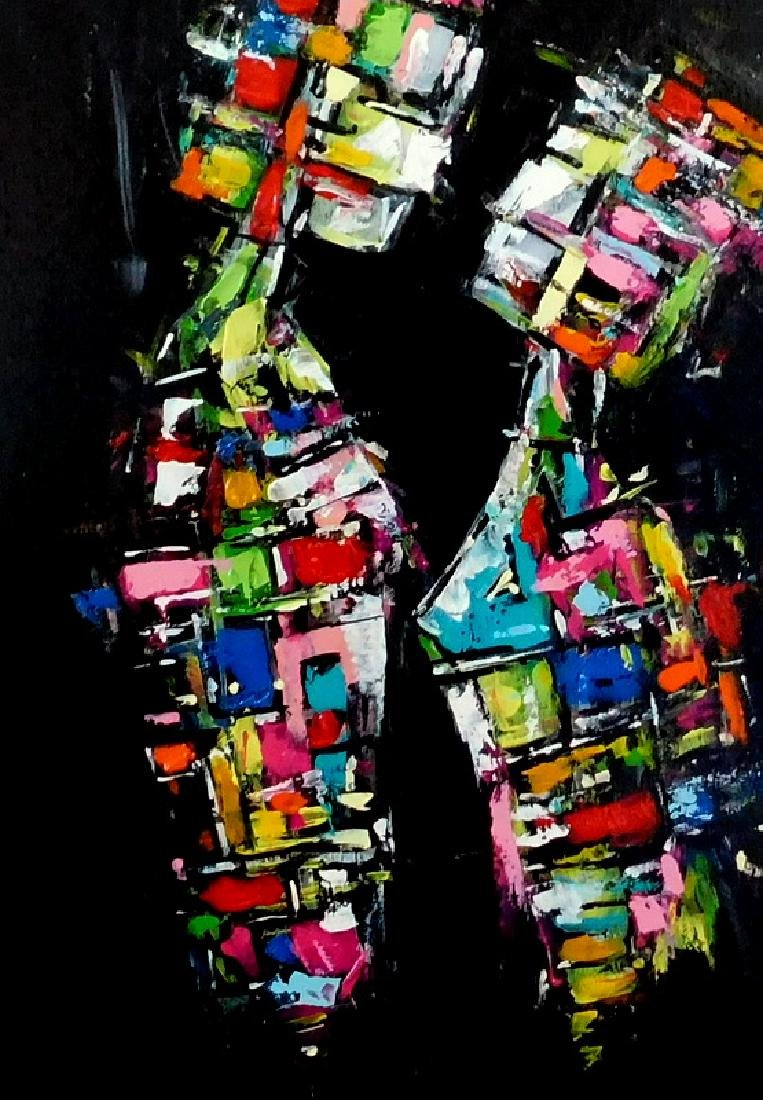 Piotr Piskorz Catch Me and Don't Let Go Painting - 5